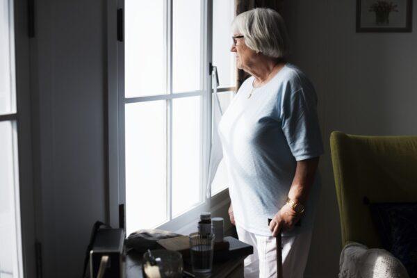personnes aînée seule résidence